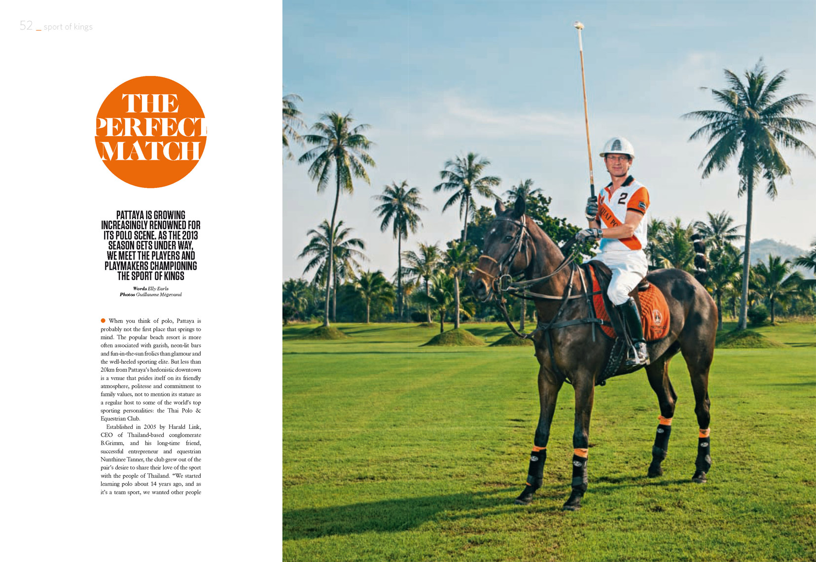 Polo in Thailand - Harald Link